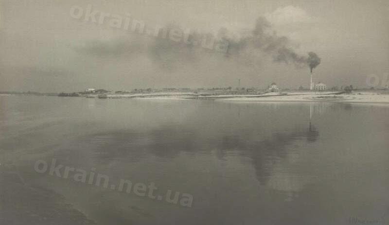 Вид Кременчуга с Днепра - фото 1654