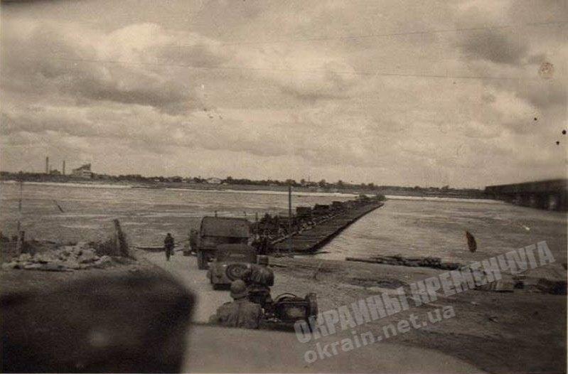 Переправа через Днепр в Кременчуге - фото №1778