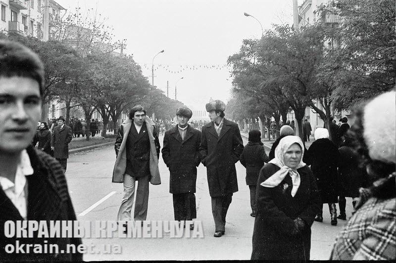 Улица Ленина в Кременчуге 1976 год - фото №1782