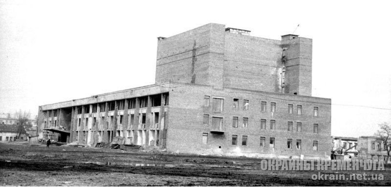 Строительство ДК Петровского в Кременчуге 1972 год - фото № 1826