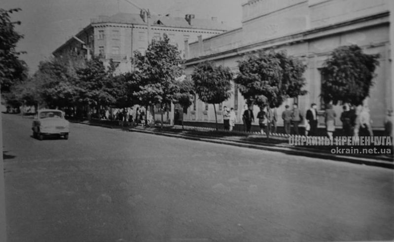 Улица Ленина, ныне Соборная, Кременчуг 1960-е - фото № 1832