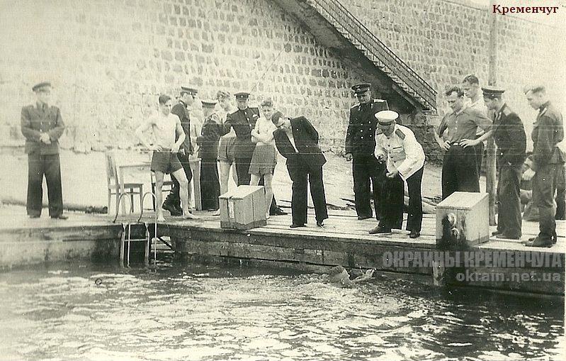 Соревнования по плаванию Кременчуг 1953 год - фото № 1850