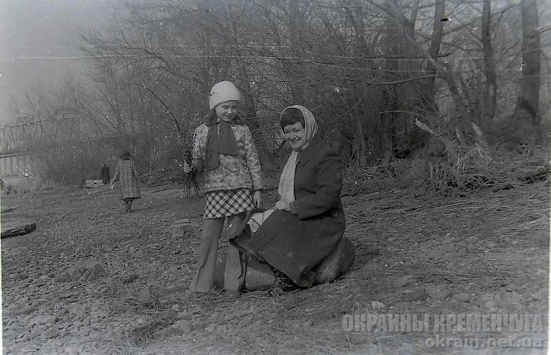 Крюковская набережная Кременчуг 1978 год - фото № 1856