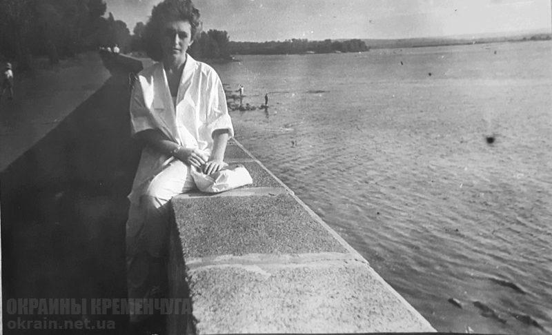 Набережная Днепра Кременчуг 1980-е - фото № 1889