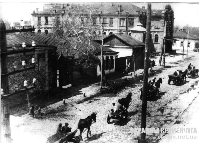 Вид на Пушкинскую народную аудиторию Кременчуг 1930 год - фото № 1891