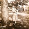 В Пролетарском сквере, 1950-е — фото № 1904