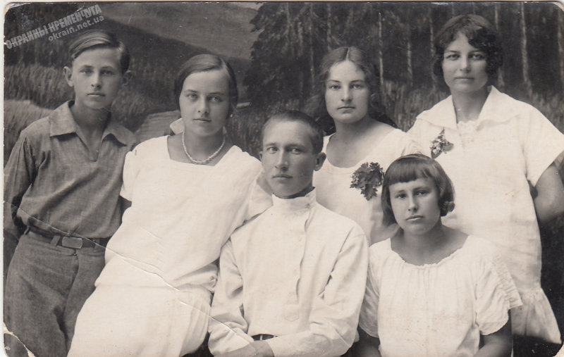 «Молодежь» фотография Порицкого Кременчуг 1928 год - фото № 1921