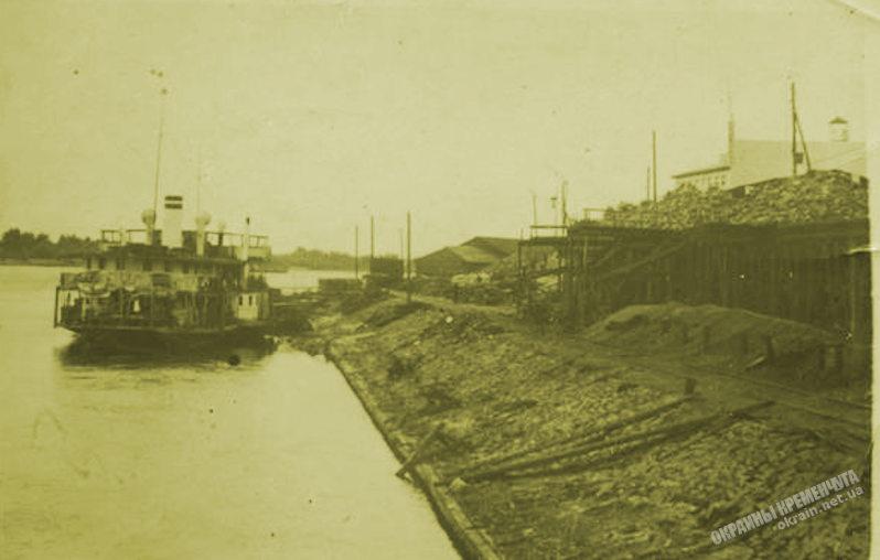 Пристань Кременчуг 23 июня 1936 года - фото № 1927