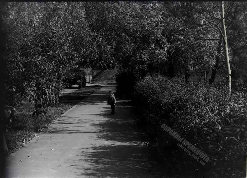 Литературный переулок Кременчуг 1977 год - фото № 1936