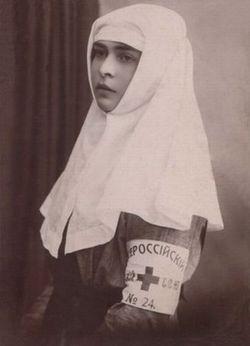 Сестры милосердия Красного Креста в Кременчуге