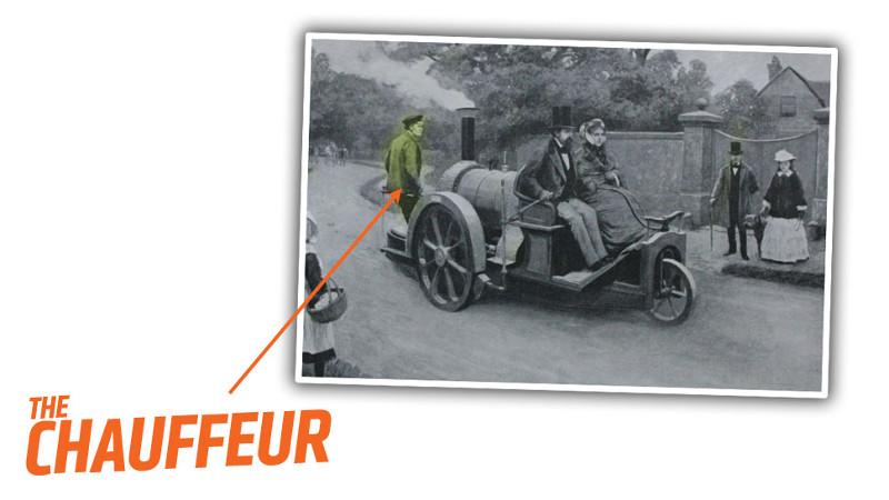 Карл Бенц запатентовал свой 1886 Patent-Motorwagen с бензиновым двигателем