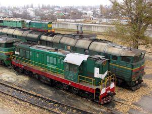 Локомотивное депо Кременчуг