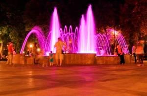 20 апреля заработает фонтан в сквере «Имени Олега Бабаева»
