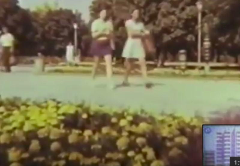 Видео Кременчуга снято в 80-е года прошлого столетия
