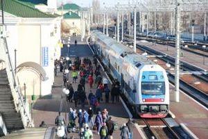 Скоростной поезд «Интерсити» сегодня впервые в Кременчуге