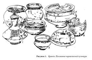 Пам'ятки Черняхівської культури м. Кременчука