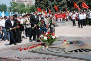 Подготовка к празднованию 68-й годовщины Победы в Великой Отечественной войне 1941 - 1945 годов.