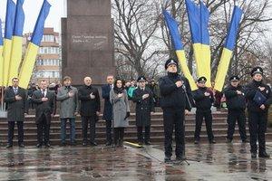 Патрульные полиции приняли присягу в Кременчуге