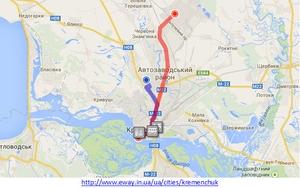 В Кременчуге начала работу интернет-услуга по поиску маршрутов общественного транспорта