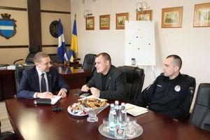 Мэр Кременчуга встретился с начальником патрульной полиции