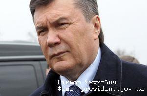 Януковича в Кременчуге будут встречать пшеницей и синими ковриками