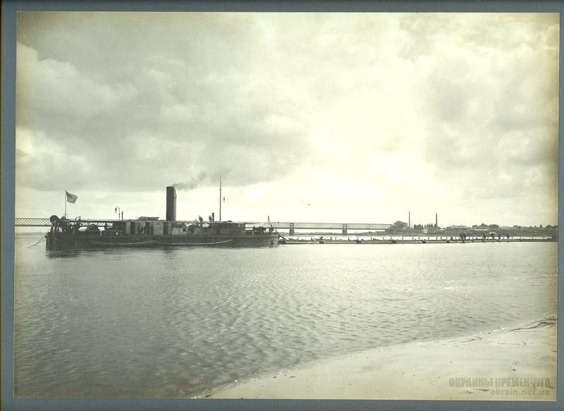 Землечерпальная машина №10 Кременчуг 28 июля 1913 года - фото № 2001