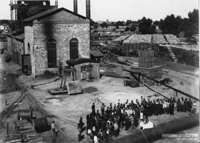 Молитва перед работой на металлургическом заводе Крюков - фото № 2013