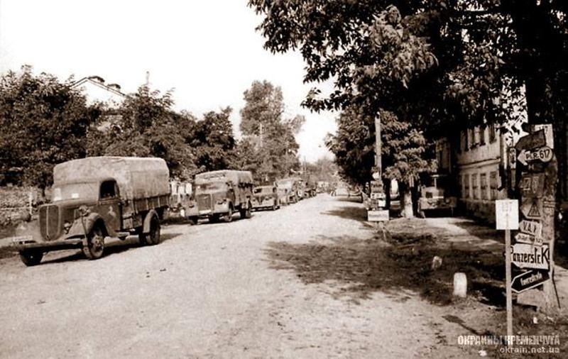 Немецкие войска на улицах Кременчуга 1941 год - фото № 2027