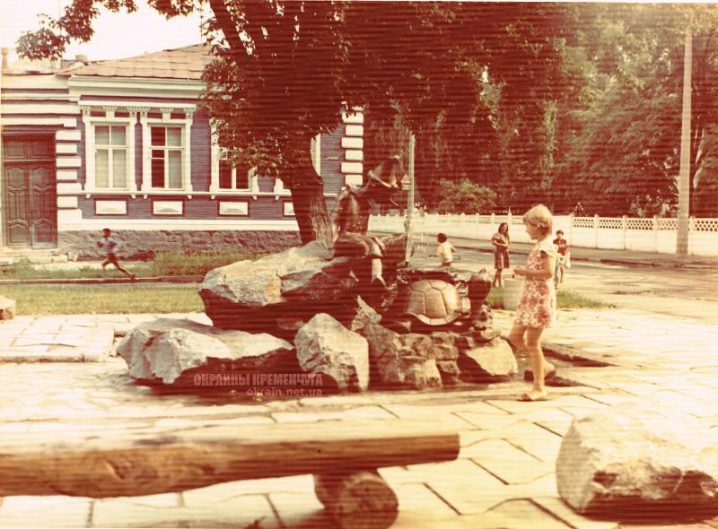 Скульптурная группа «Буратино и черепаха Тортила» Кременчуг 1980-е фото № 2041