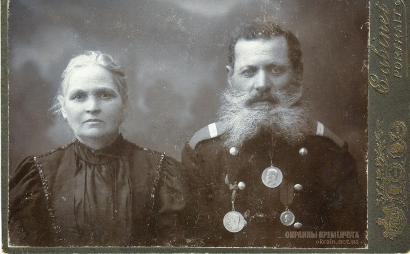 Veteran and his wife photo M. Tagrin Kremenchug photo number 2066