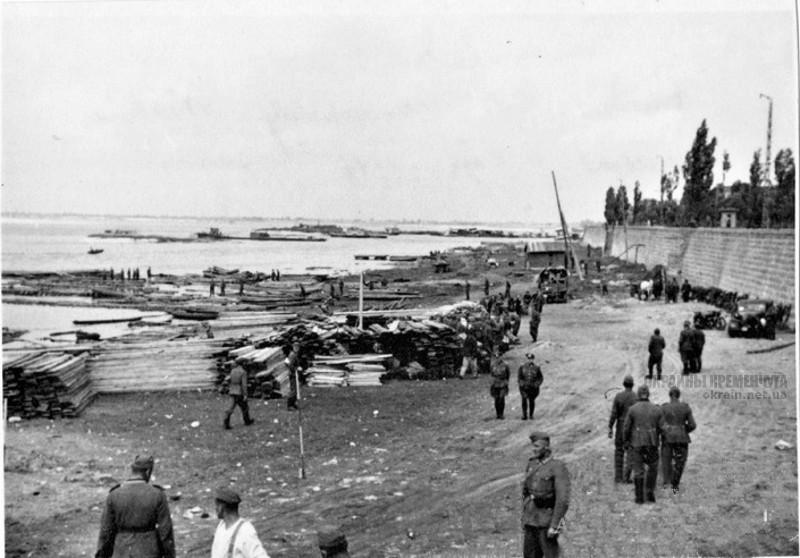 Набережная Днепра Кременчуг 1941 год фото номер 2095