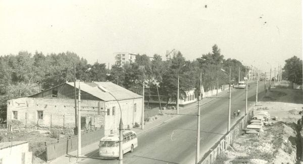 Район от электростанции до водоканала в Кременчуге первая половина 1970-х