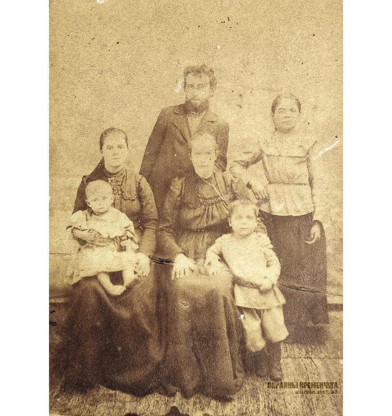 Семья Пуйло Кременчуг 1910-1911 год фото номер 2155