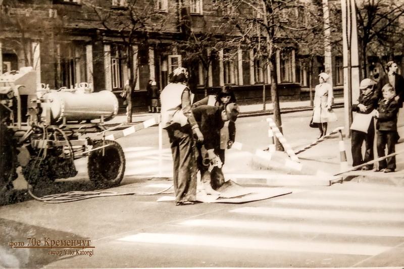 Перекресток улиц Пролетарской и Ленина Кременчуг 1978 год фото номер 2168