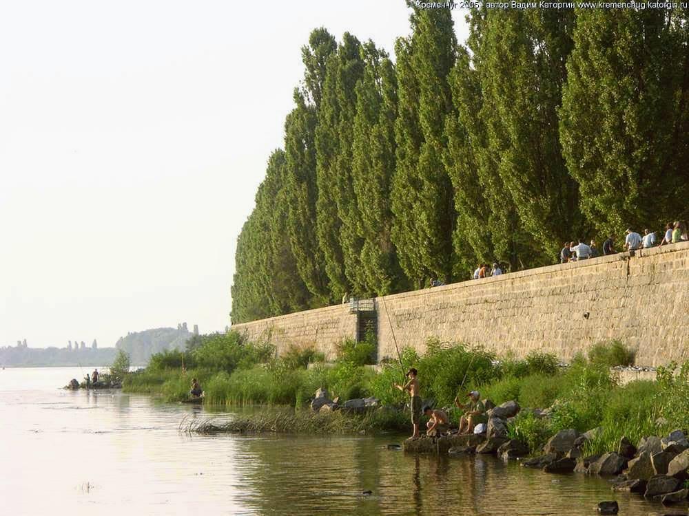 набережная Кременчуг 2005 год фото номер 2174