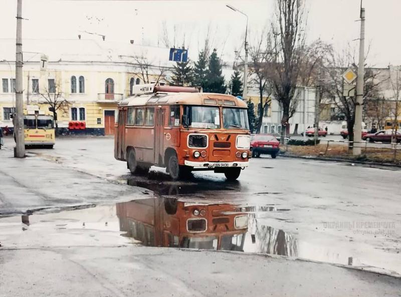 Улица Халаменюка Кременчуг 1990-е фото номер 2172