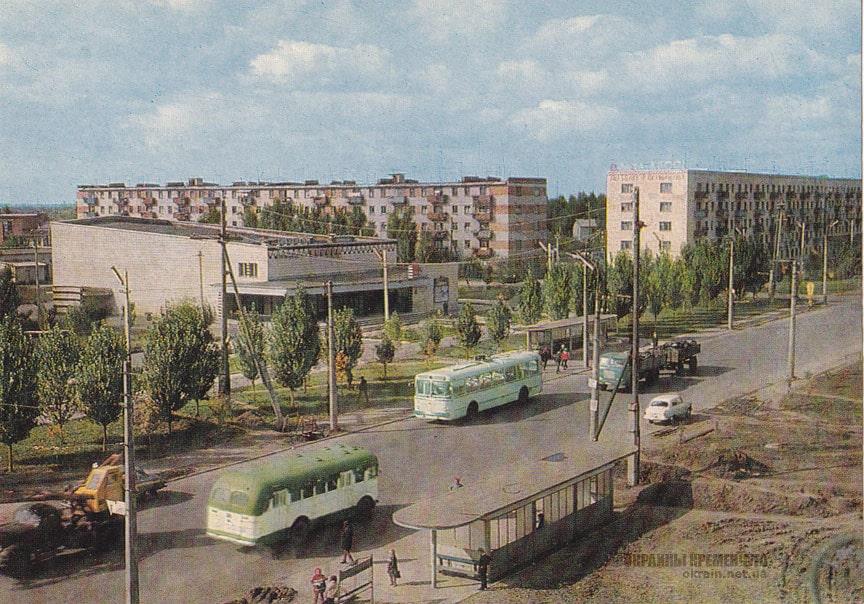 Остановка Аврора в Кременчуге 1971 год фото номер 2210