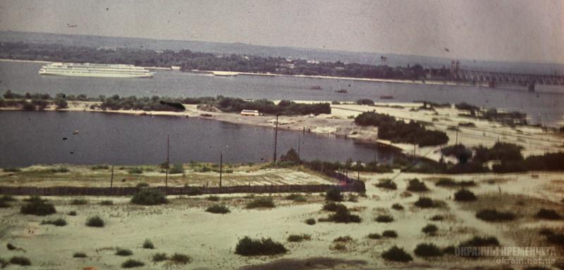 Вид на Днепр в районе Занасыпи 1977 год фото номер 2218