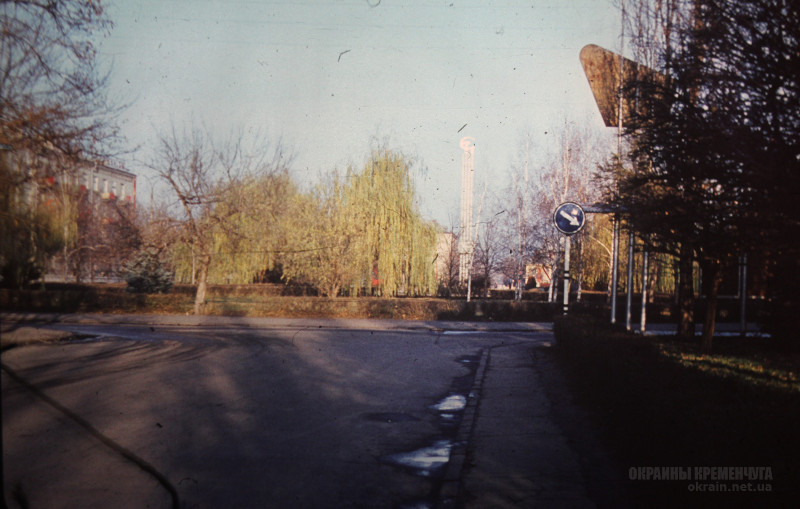 Бульвар Пушкина в Кременчуге 1979 год фото номер 2221