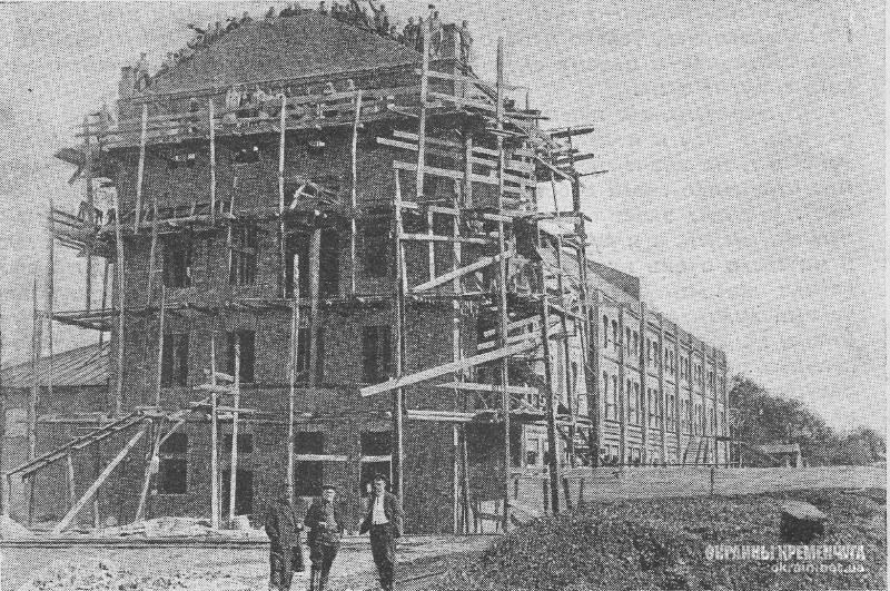 Строительство элеватора в Кременчуге фото номер 2223