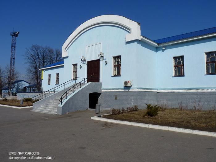 Новое здание вокзала Крюков-на-Днепре