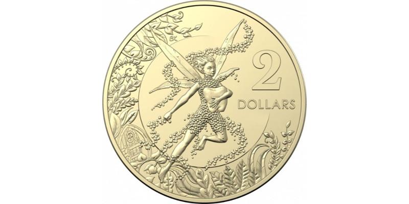 Монета 2 доллара «Зубная Фея»