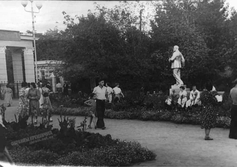 Крюковский парк 1954 год фото номер 2237