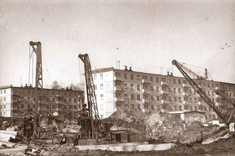 Строительство в Кременчуге 1967 год фото номер 2241