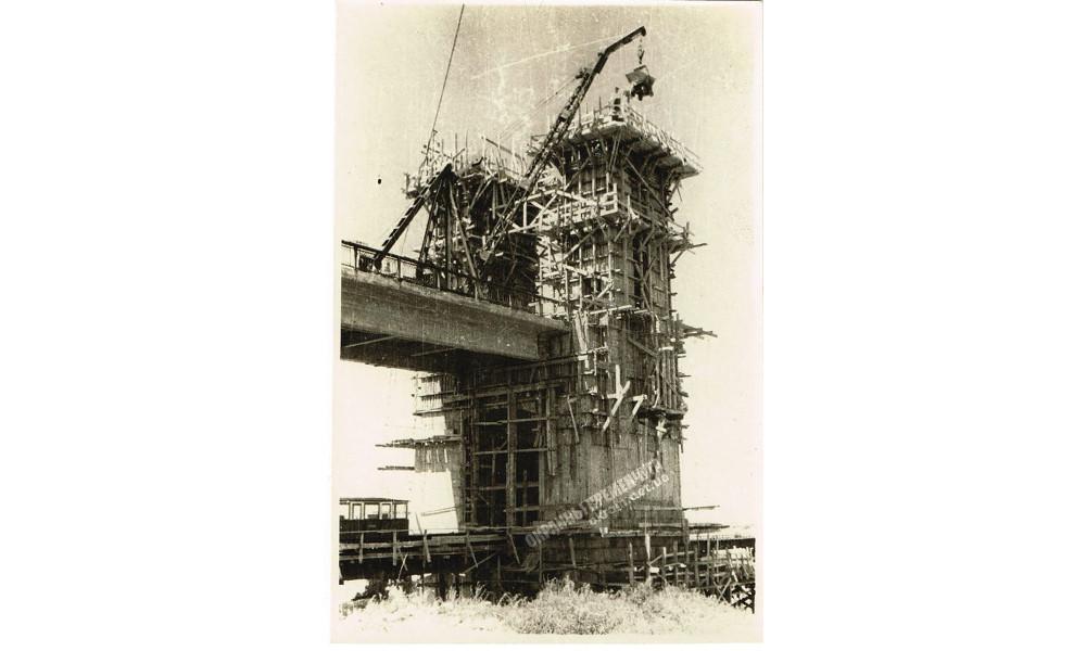 Строительство наземной опоры Крюковского моста фото номер 2253