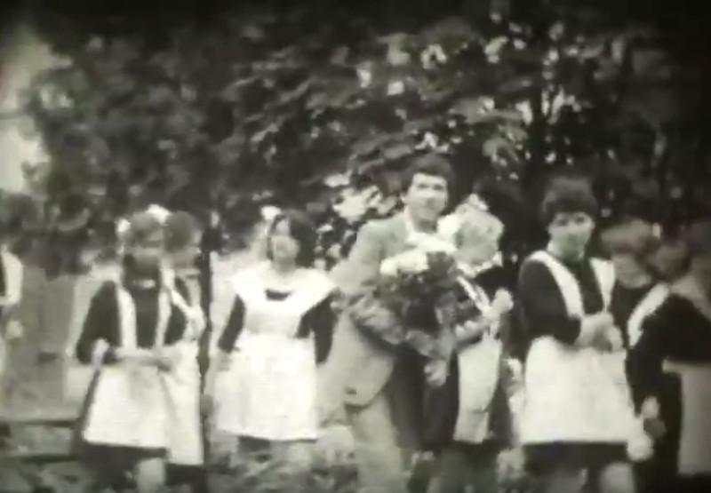 Школа 13 10-Б класс в Кременчуге 1979 год видео номер 2252
