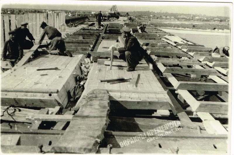 Строительство Крюковского моста фото номер 2257