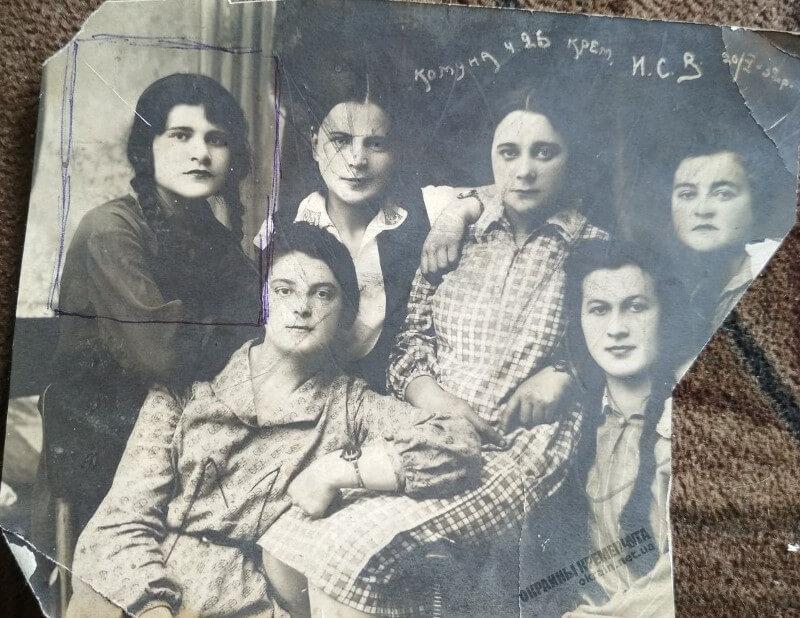 Студентки Института Социального Воспитания 20 мая 1932 год фото номер 2264