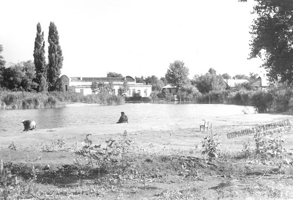 Озеро Гарячка в Кременчуге 1973 год фото номер 2292