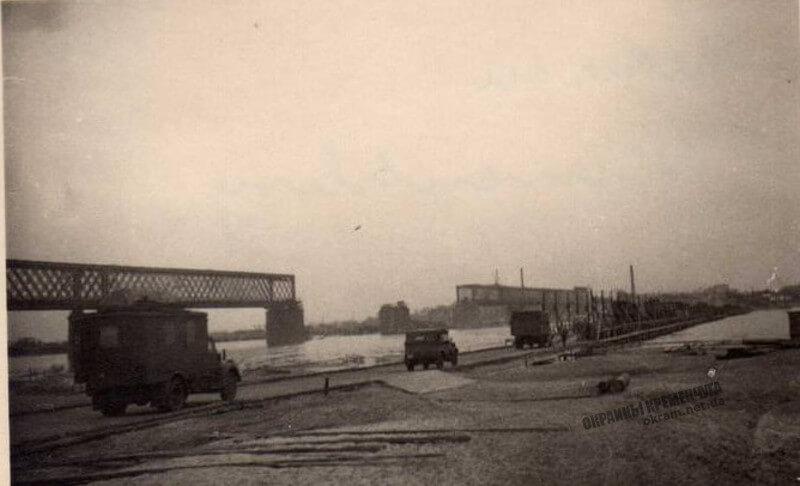 Переправа и мост в Кременчуге 1941 год фото номер 2295